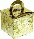 10 Gold Stars Balloon Weight/Gift Boxes